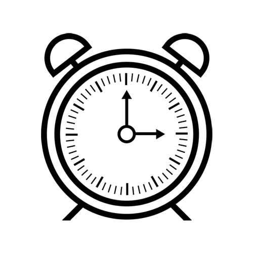 Clock button for vector website free vector download 129077 | cannypic.